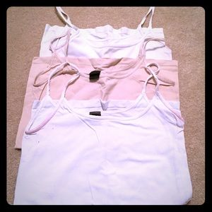 Set of 3 Camis By The Limited Sz M